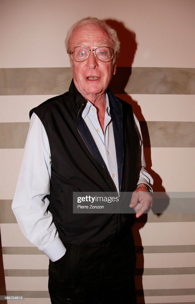 Actor <a gi-track='captionPersonalityLinkClicked' href=/galleries/search?phrase=Michael+Caine+-+Actor&family=editorial&specificpeople=159746 ng-click='$event.stopPropagation()'>Michael Caine</a> seen at Seasalt and Pepper on April 19, 2014 in Miami, Florida.