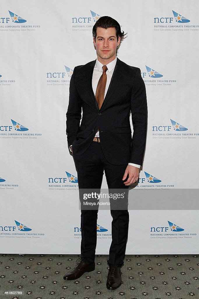 Actor Michael Campayno attends the 2014 National Corporate Theatre Fund Chairman's Awards Gala at The Pierre Hotel on March 31, 2014 in New York City.