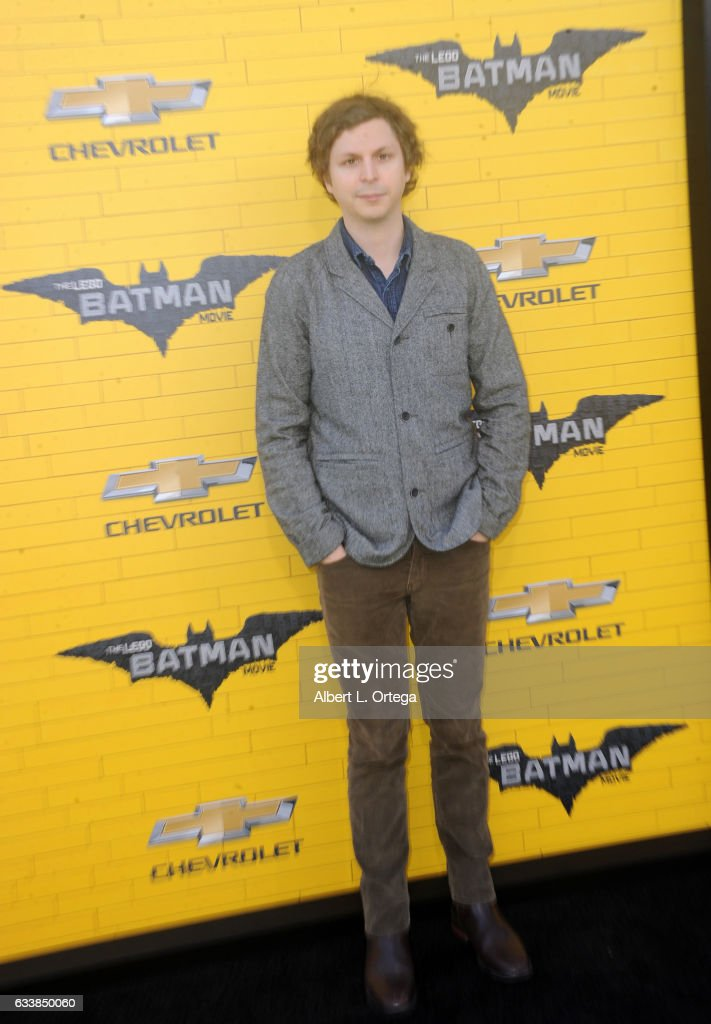 Actor Michael Cera arrives for the Premiere Of Warner Bros. Pictures' 'The LEGO Batman Movie' held at Regency Village Theatre on February 4, 2017 in Westwood, California.
