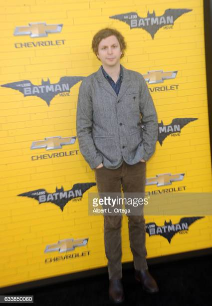 Actor Michael Cera arrives for the Premiere Of Warner Bros Pictures' 'The LEGO Batman Movie' held at Regency Village Theatre on February 4 2017 in...