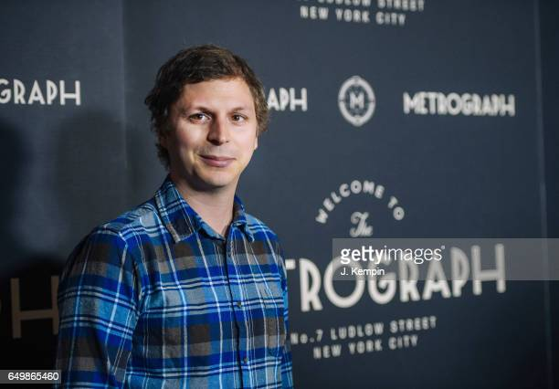 Actor Michael Cera attends the Metrograph 1st year anniversary party at Metrograph on March 8 2017 in New York City