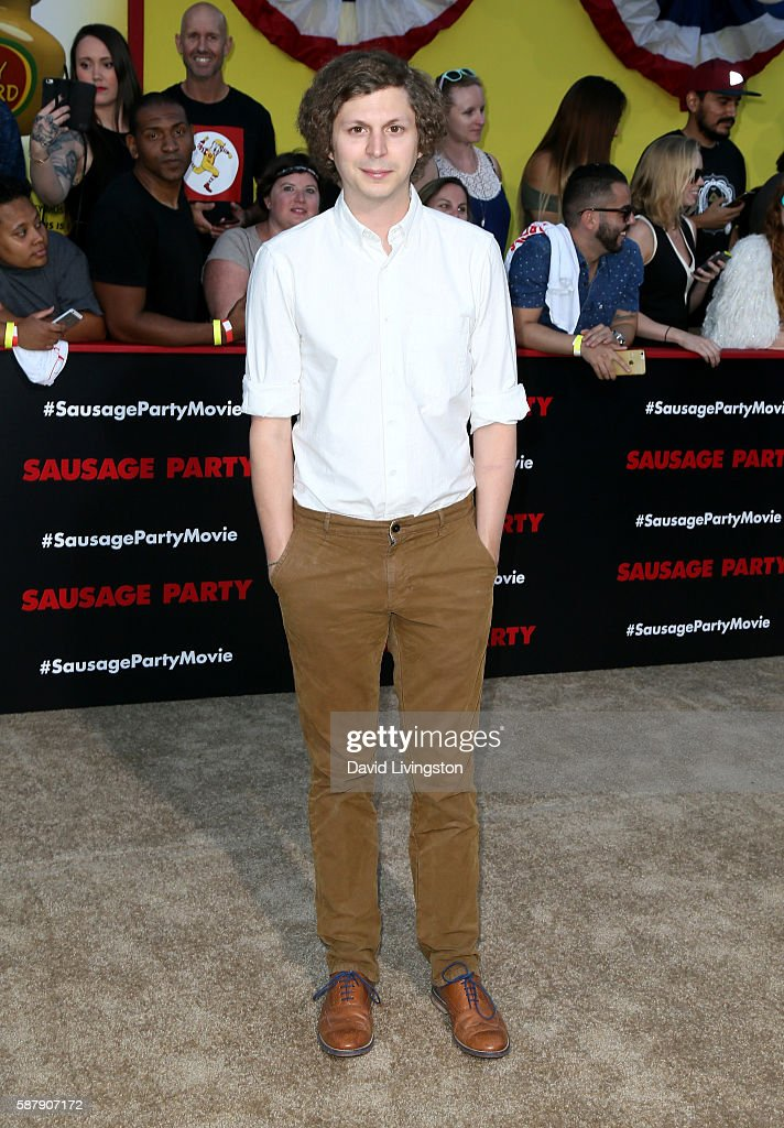 Actor Michael Cera attends the premiere of Sony's 'Sausage Party' at Regency Village Theatre on August 9, 2016 in Westwood, California.