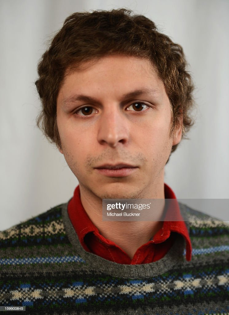 Actor Michael Cera poses for a portrait at the Photo Studio for MSN Wonderwall at ChefDance on January 22, 2013 in Park City, Utah.