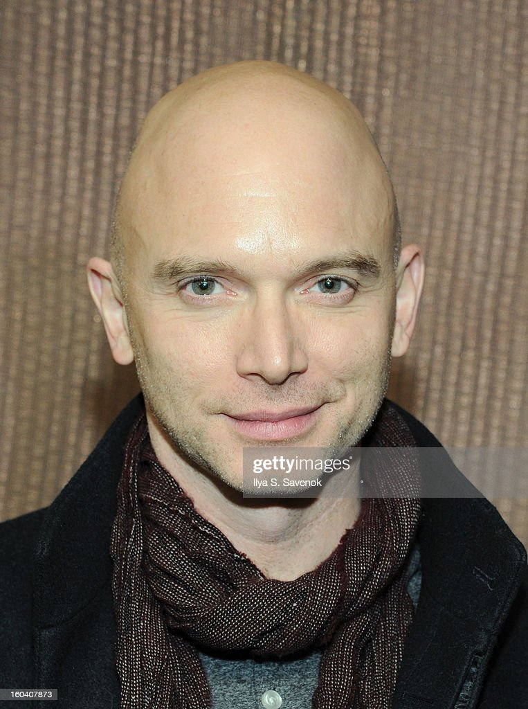 Actor <a gi-track='captionPersonalityLinkClicked' href=/galleries/search?phrase=Michael+Cerveris&family=editorial&specificpeople=206935 ng-click='$event.stopPropagation()'>Michael Cerveris</a> attends 'All The Rage' Opening Night on January 30, 2013 in New York, United States.