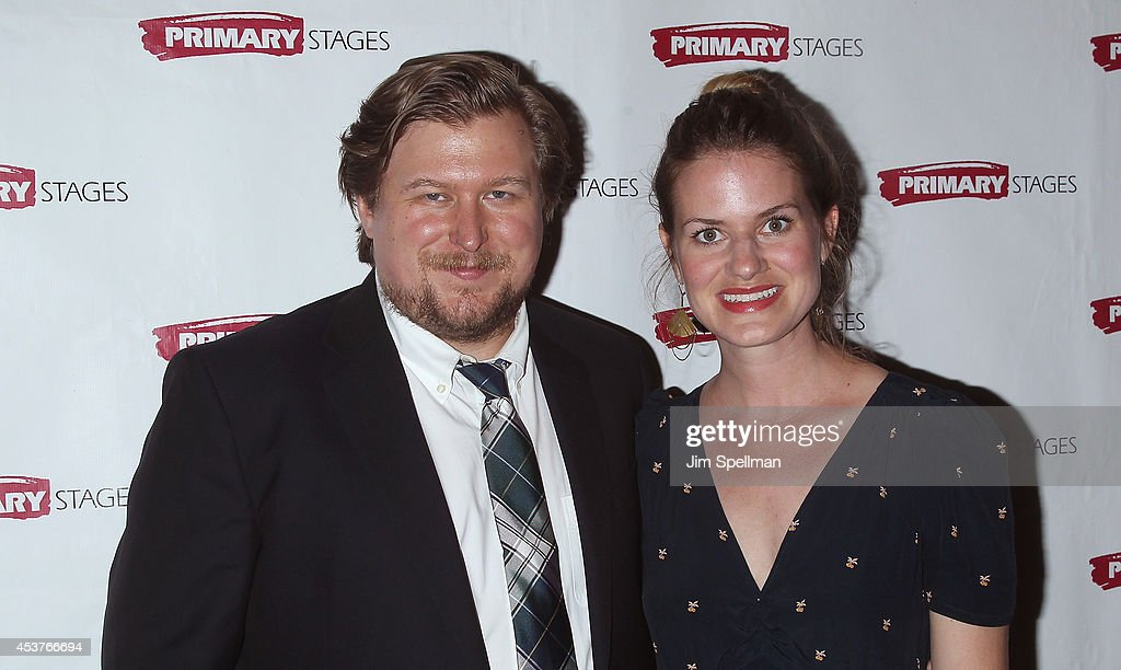 Actor <a gi-track='captionPersonalityLinkClicked' href=/galleries/search?phrase=Michael+Chernus&family=editorial&specificpeople=2150558 ng-click='$event.stopPropagation()'>Michael Chernus</a> and guest attend the 'Poor Behavior' Opening Night after party at Casa Nonna on August 17, 2014 in New York City.