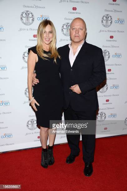 Actor Michael Chiklis and his wife Michelle Moran arrive at the 55th Annual Women's Guild CedarsSinai Anniversary Gala at the Beverly Wilshire Four...