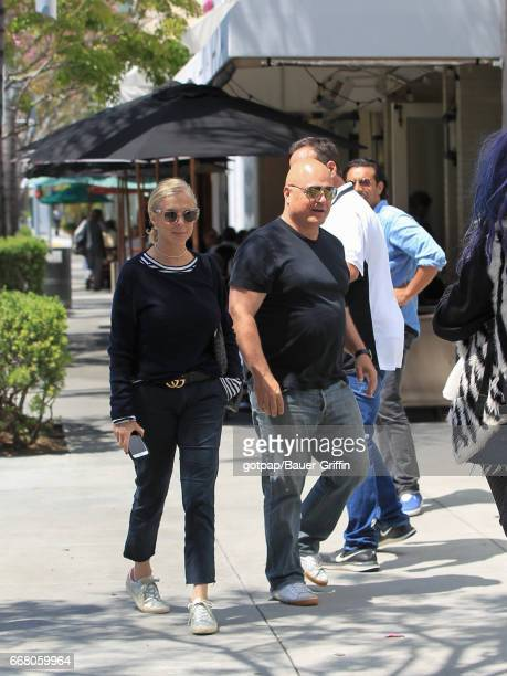 Actor Michael Chiklis and Michelle Chiklis are seen on April 12 2017 in Los Angeles California