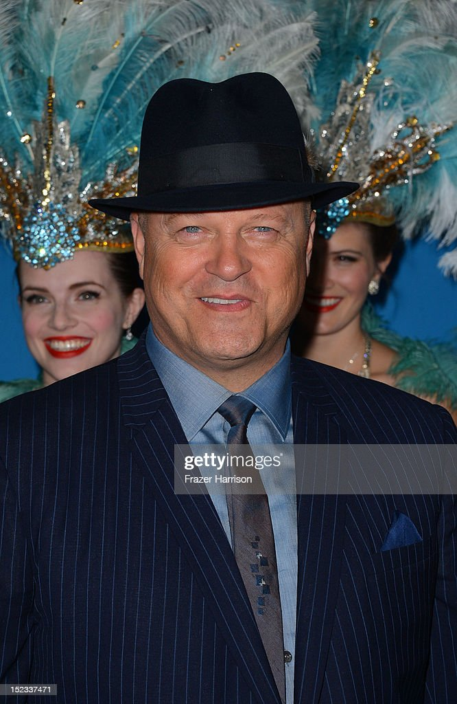 Actor <a gi-track='captionPersonalityLinkClicked' href=/galleries/search?phrase=Michael+Chiklis&family=editorial&specificpeople=239514 ng-click='$event.stopPropagation()'>Michael Chiklis</a> arrives at CBS 2012 fall premiere party held at Greystone Manor Supperclub on September 18, 2012 in West Hollywood, California.