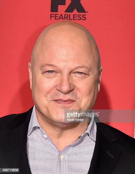 Actor Michael Chiklis attends the premiere screening of FX's 'American Horror Story Freak Show' at TCL Chinese Theatre on October 5 2014 in Hollywood...