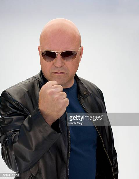 Actor Michael Chiklis is photographed Boston Common Magazine in 2007 in Los Angeles, California.