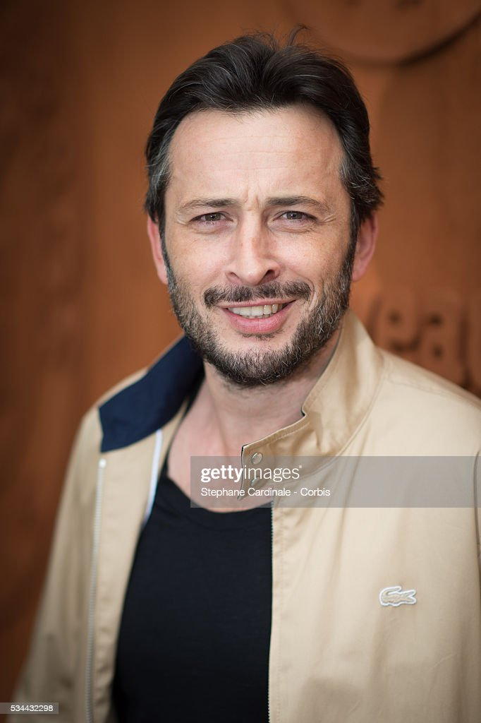 Actor Michael Cohen attends day five of the 2016 French Open at Roland Garros on May 26, 2016 in Paris, France.