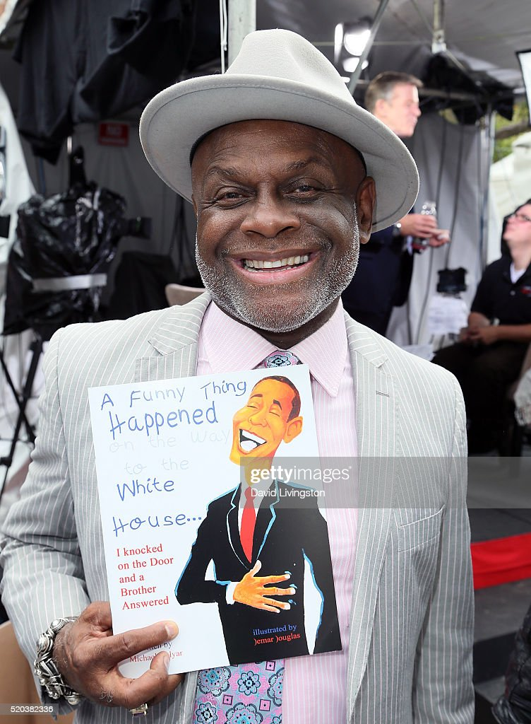 Actor Michael Colyar attends the 2016 Los Angeles Times Festival of Books at USC on April 10 2016 in Los Angeles California