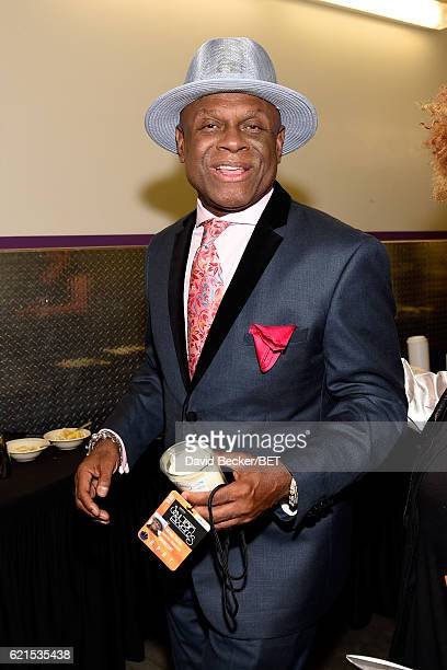 Actor Michael Colyar seen backstage during the 2016 Soul Train Music Awards on November 6 2016 in Las Vegas Nevada