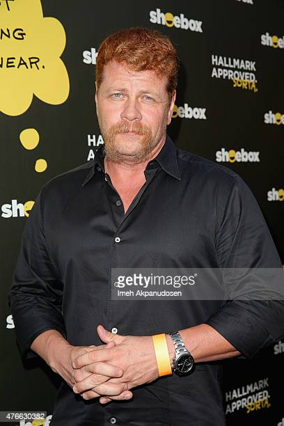 Actor Michael Cudlitz attends Shoebox's 29th Birthday Celebration hosted by Rob Riggle at The Improv on June 10 2015 in Hollywood California