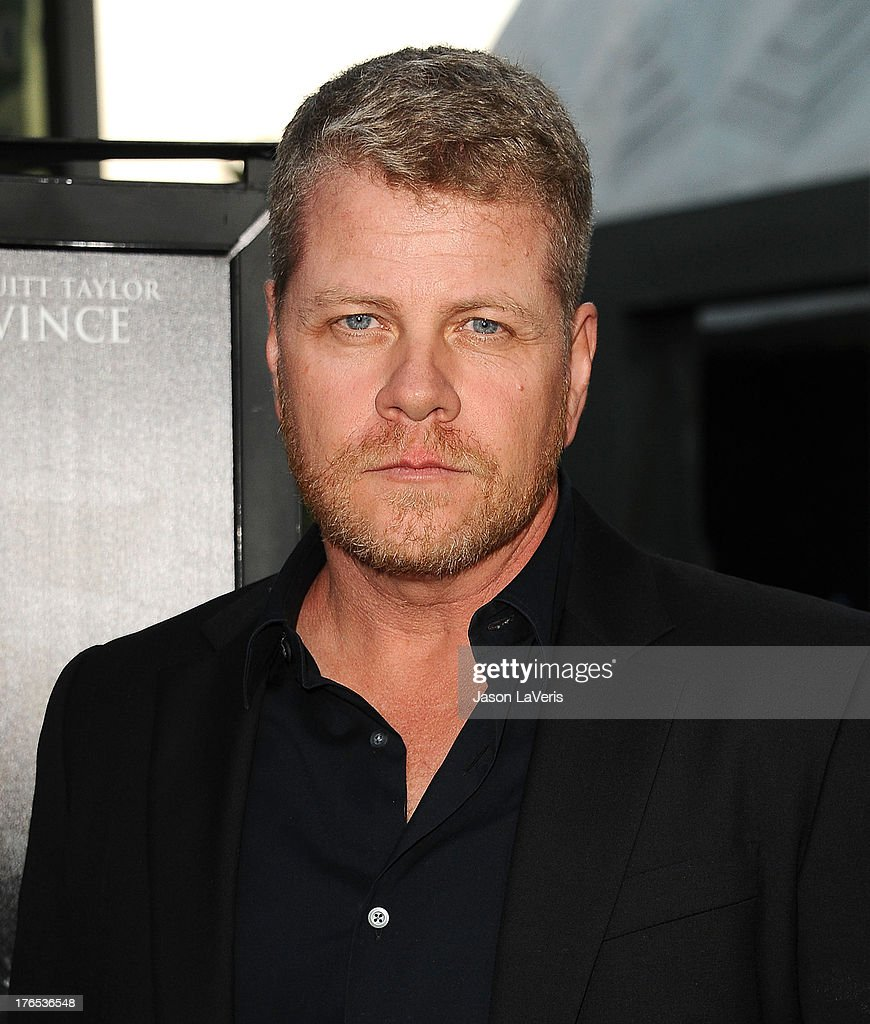 Actor Michael Cudlitz attends the premiere of 'Dark Tourist' at ArcLight Hollywood on August 14, 2013 in Hollywood, California.