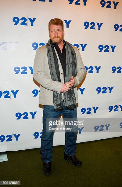 Actor Michael Cudlitz attends 'The Walking Dead' Screening and Conversation at 92nd Street Y on February 8 2016 in New York City