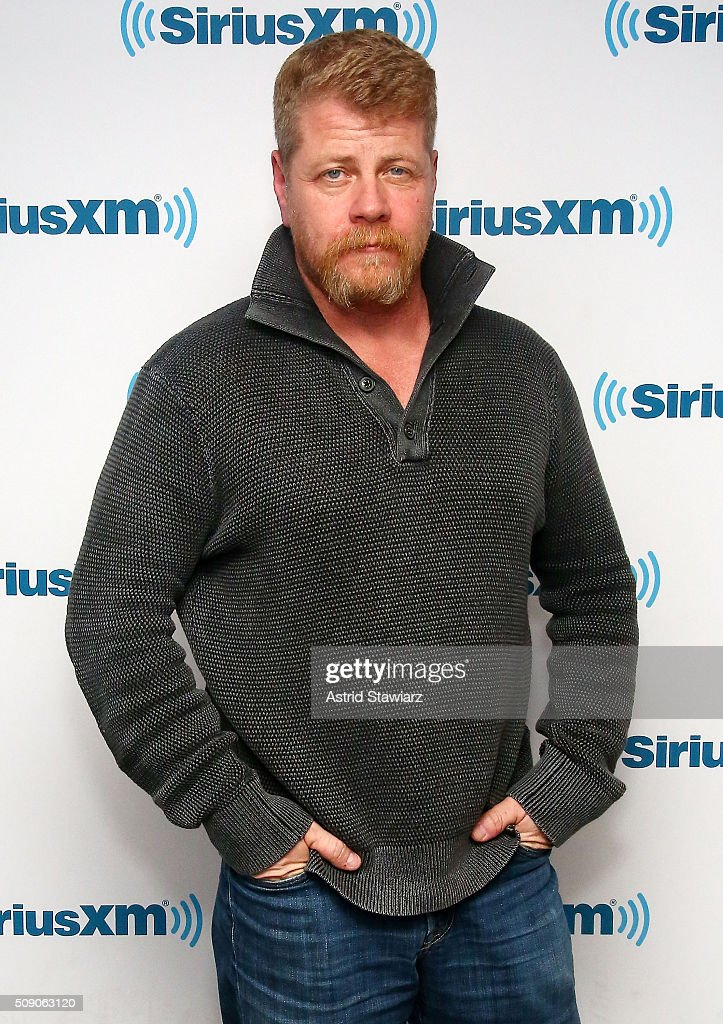 Actor <a gi-track='captionPersonalityLinkClicked' href=/galleries/search?phrase=Michael+Cudlitz&family=editorial&specificpeople=756326 ng-click='$event.stopPropagation()'>Michael Cudlitz</a> visits the SiriusXM Studios on February 8, 2016 in New York City.