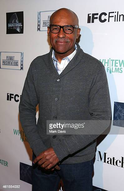 Actor Michael Dorn attends the Los Angeles Premiere of 'Match' held at the Laemmle Music Hall on January 14 2015 in Beverly Hills California