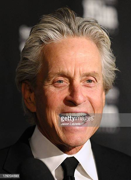 Actor Michael Douglas attends Santa Barbara International Film Festival's 6th annual Kirk Douglas Award for Excellence in Film gala at The Four...