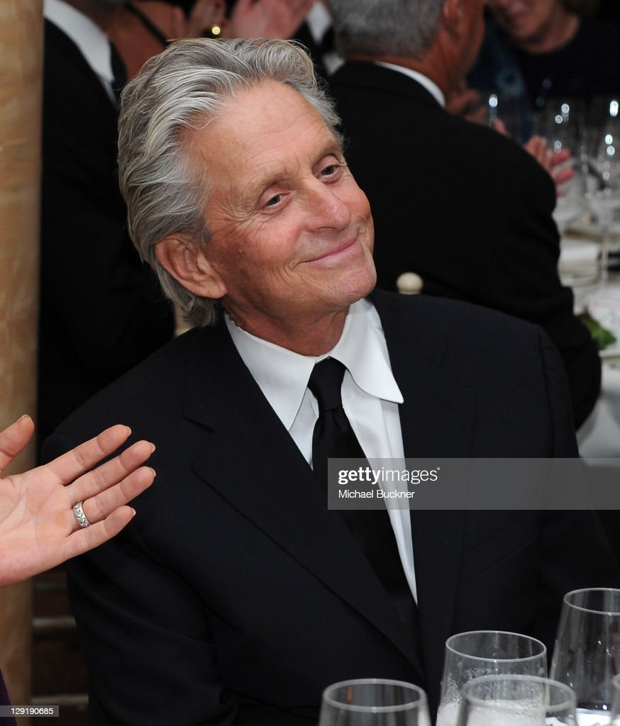 Actor Michael Douglas attends SBIFF's 2011 Kirk Douglas Award for Excellence In Film honoring Michael Douglas at the Biltmore Four Seasons on October 13, 2011 in Santa Barbara, California.