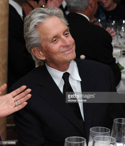 Actor Michael Douglas attends SBIFF's 2011 Kirk Douglas Award for Excellence In Film honoring Michael Douglas at the Biltmore Four Seasons on October...