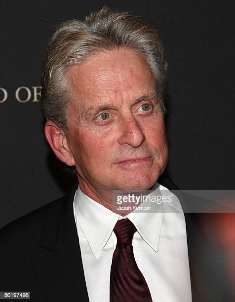 Actor Michael Douglas attends the 2007 National Board of Review of Motion Pictures Annual Awards Gala at Cipriani 42nd Street on January 15 2008 in...