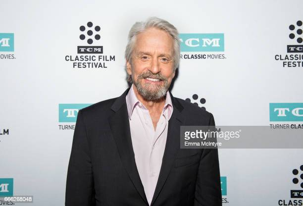 Actor Michael Douglas attends the 2017 TCM Classic Film Festival on April 8 2017 in Los Angeles California 26657_004