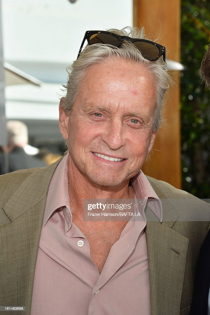 Actor <a gi-track='captionPersonalityLinkClicked' href=/galleries/search?phrase=Michael+Douglas&family=editorial&specificpeople=171111 ng-click='$event.stopPropagation()'>Michael Douglas</a> attends the BAFTA LA TV Tea 2013 presented by BBC America and Audi held at the SLS Hotel on September 21, 2013 in Beverly Hills, California.