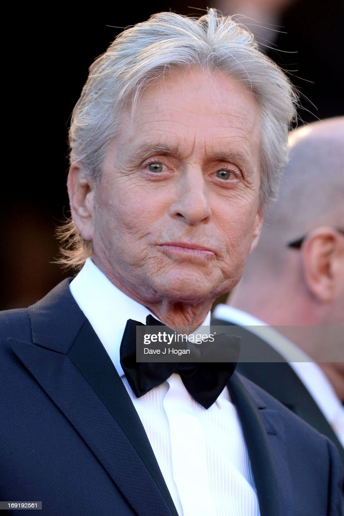 Actor Michael Douglas attends the 'Behind The Candelabra' premiere during The 66th Annual Cannes Film Festival at Theatre Lumiere on May 21, 2013 in Cannes, France.