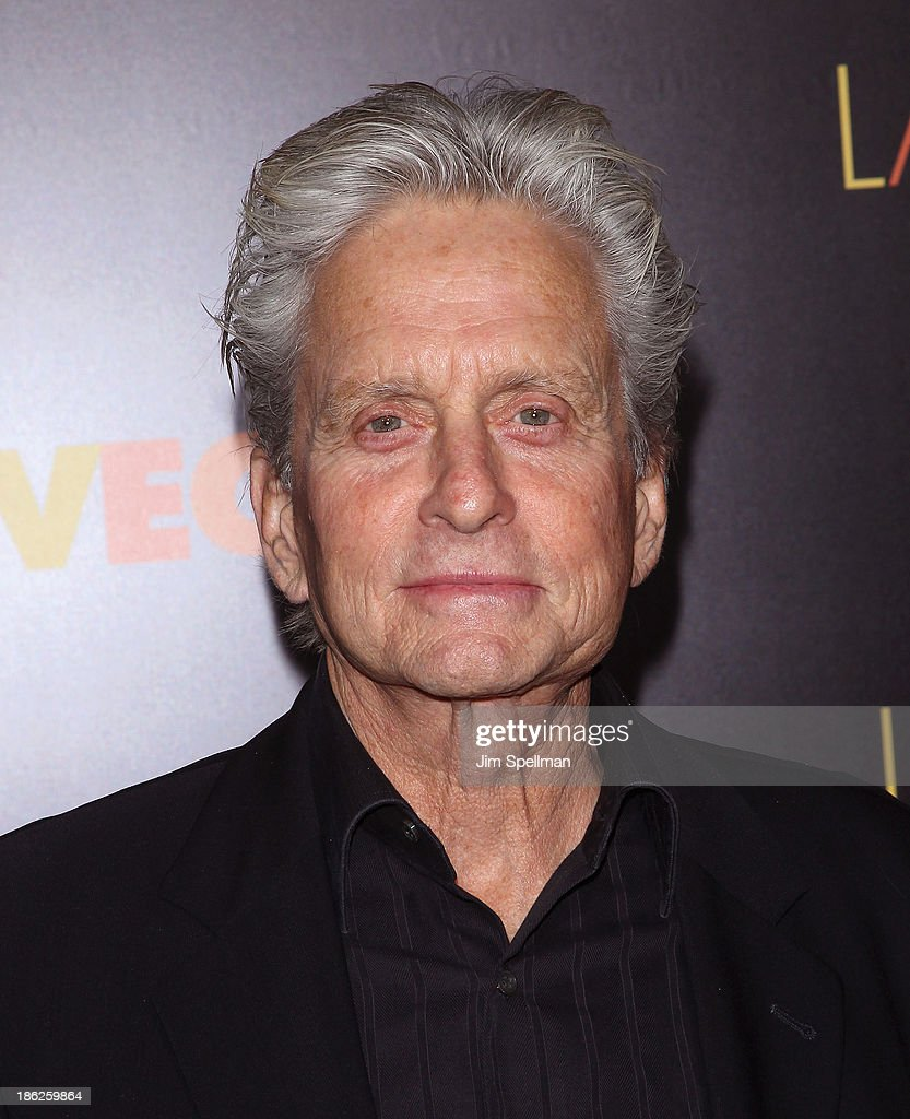Actor <a gi-track='captionPersonalityLinkClicked' href=/galleries/search?phrase=Michael+Douglas&family=editorial&specificpeople=171111 ng-click='$event.stopPropagation()'>Michael Douglas</a> attends the 'Last Vegas' premiere at the Ziegfeld Theater on October 29, 2013 in New York City.