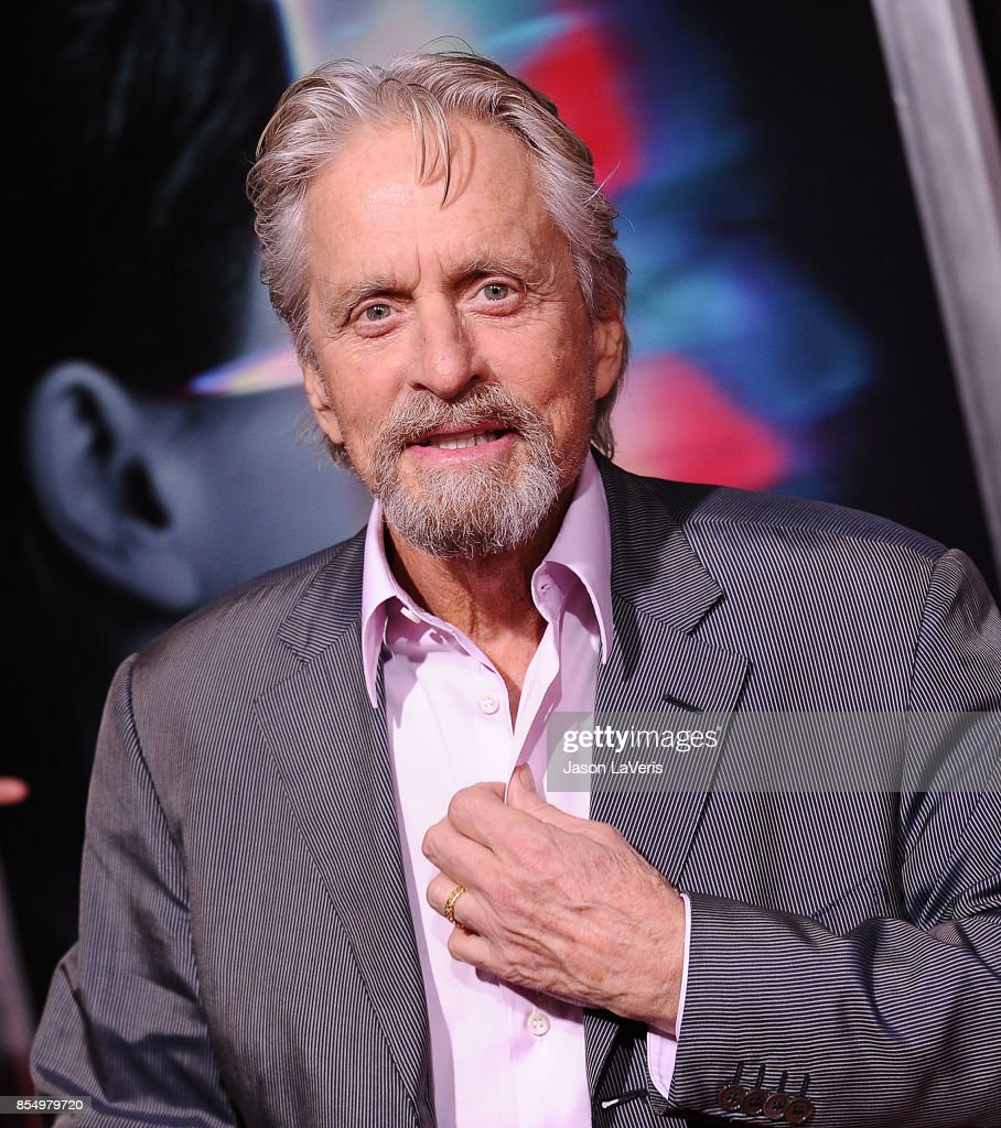 Actor Michael Douglas attends the premiere of 'Flatliners' at The Theatre at Ace Hotel on September 27, 2017 in Los Angeles, California.