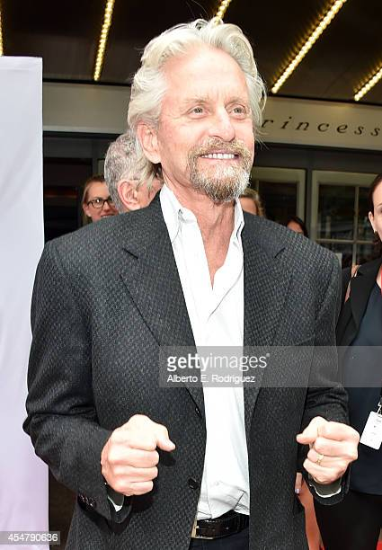 Actor Michael Douglas attends 'The Reach' premiere during the 2014 Toronto International Film Festival at Princess of Wales Theatre on September 5...
