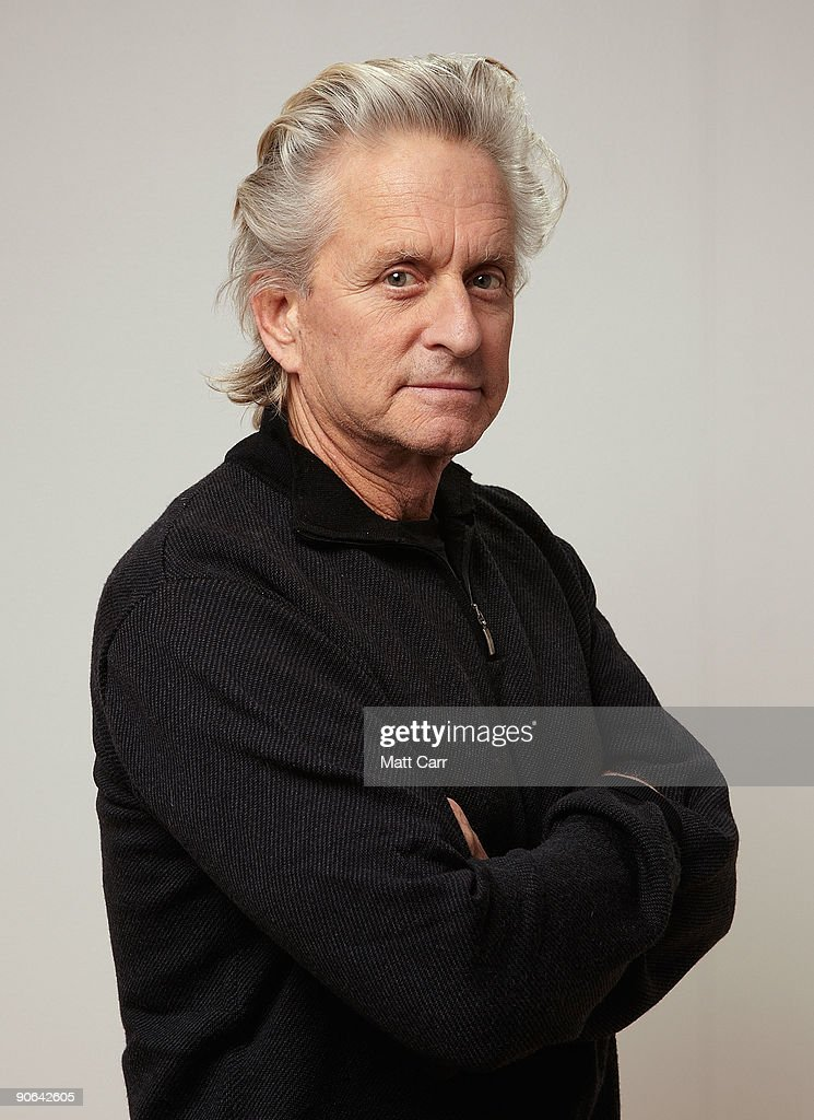 Actor Michael Douglas from the film 'Solitary Man' poses for a portrait during the 2009 Toronto International Film Festival at The Sutton Place Hotel on September 12, 2009 in Toronto, Canada.