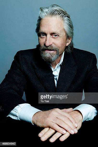 Actor Michael Douglas is photographed at the Toronto Film Festival for Variety on September 6 2014 in Toronto Ontario