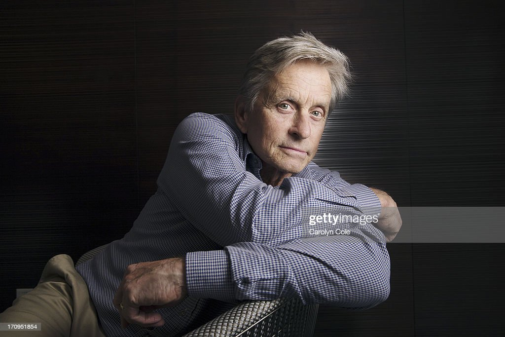 Actor <a gi-track='captionPersonalityLinkClicked' href=/galleries/search?phrase=Michael+Douglas&family=editorial&specificpeople=171111 ng-click='$event.stopPropagation()'>Michael Douglas</a> is photographed for Los Angeles Times on June 4, 2013 in New York City. PUBLISHED IMAGE.
