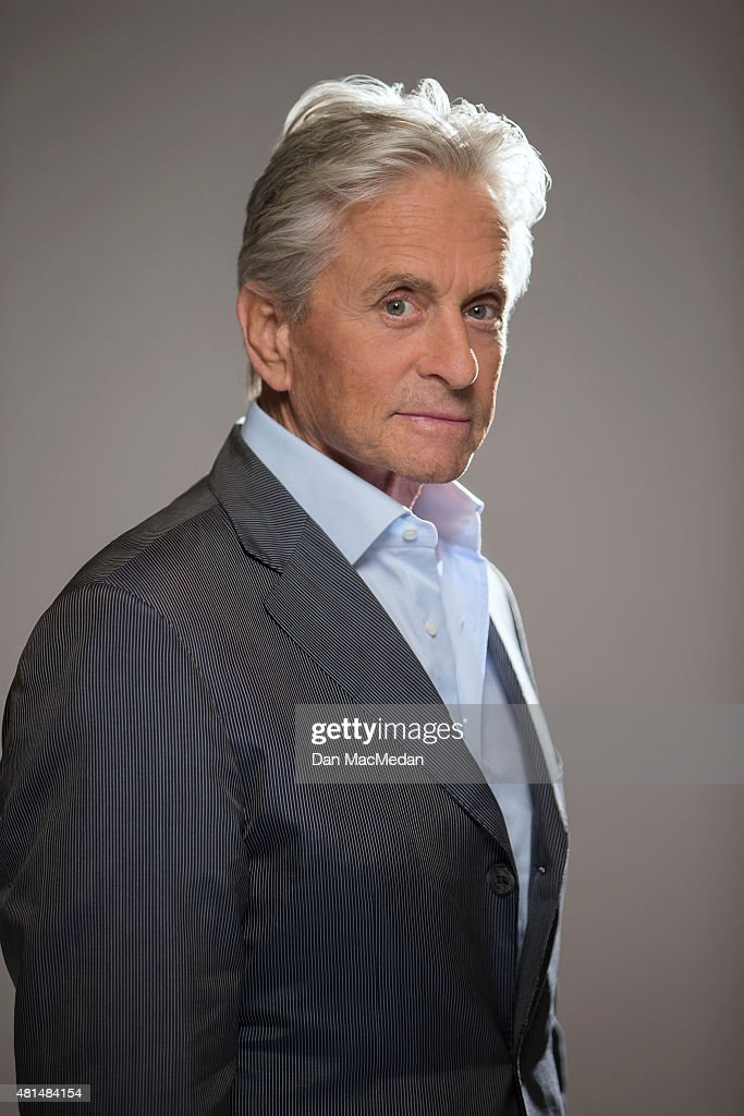 Actor Michael Douglas is photographed for USA Today on June 27, 2015 in Burbank, California.