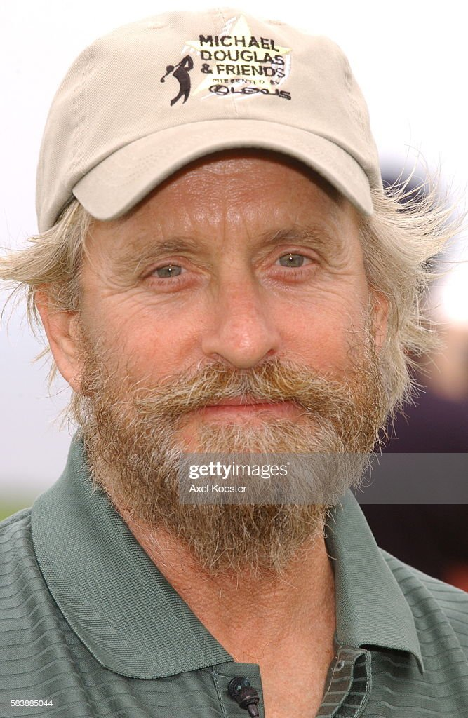 Actor Michael Douglas participates in his putting challenge at the Michael Douglas Celebrity Golf Tournament at Trump National Golf Club in Rancho...