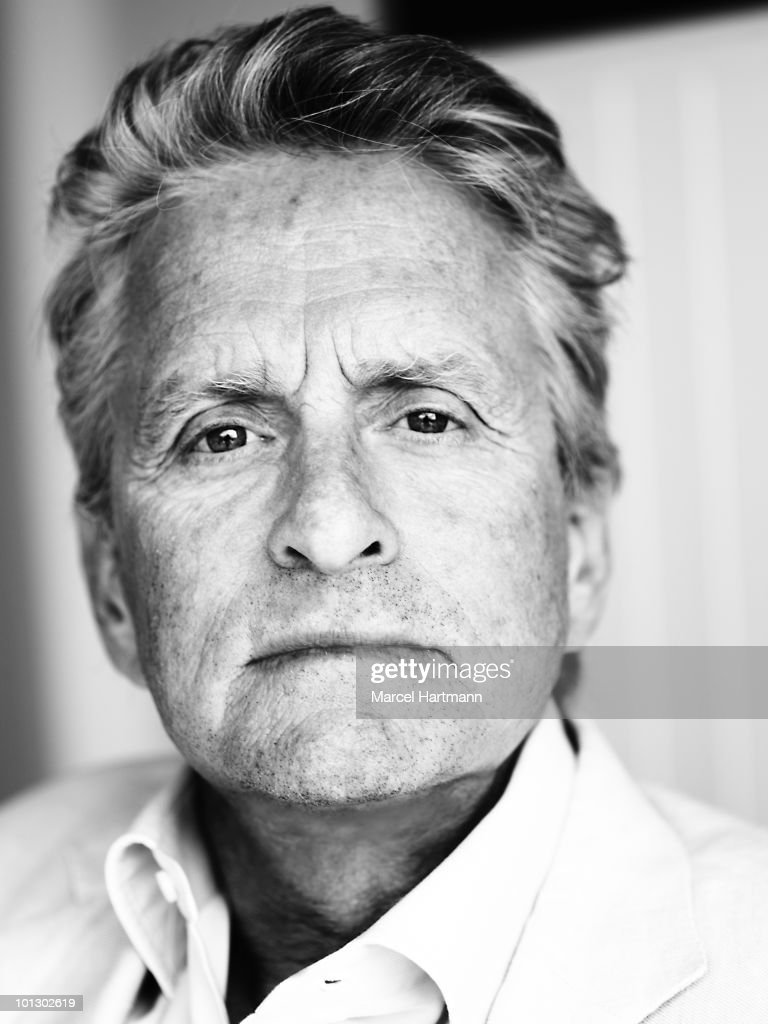 Actor Michael Douglas poses at a portrait session in Cannes at the 63rd Cannes Film Festival. France. 16 May 2010 .