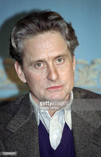 US actor Michael Douglas poses at the Raphael hotel on January 14 in Paris AFP PHOTO PIERRE VERDY
