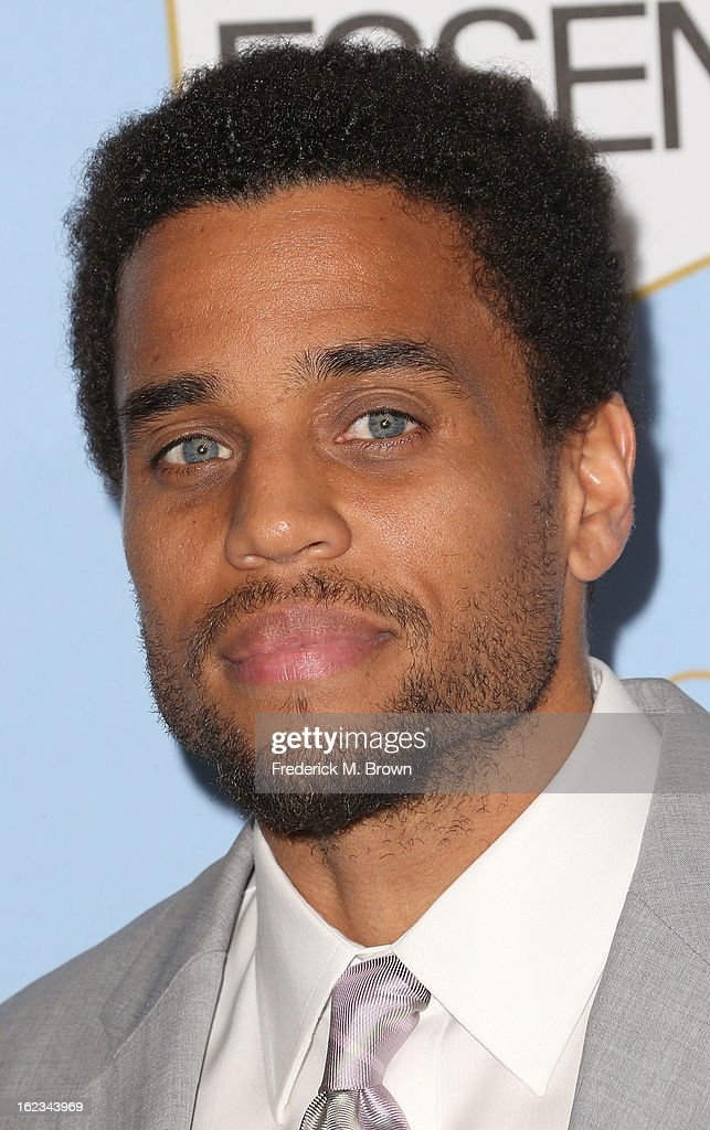 Actor Michael Ealy attends the Sixth Annual ESSENCE Black Women In Hollywood Awards Luncheon at the Beverly Hills Hotel on February 21, 2013 in Beverly Hills, California.