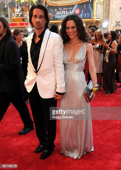 Actor Michael Easton and wife...