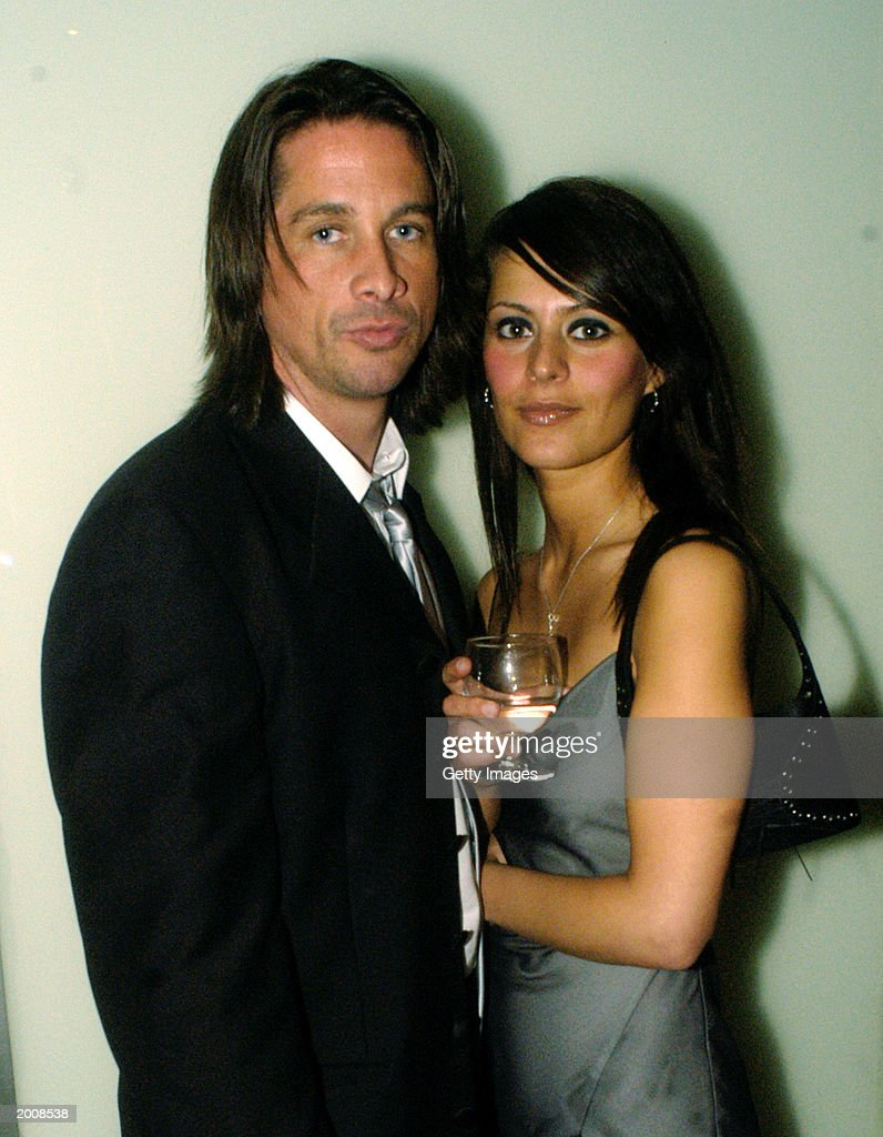 Actor Michael Easton, of 'Port Charles,' and Ginevra Arabia appear at the ABC after party for the 30th Annual Daytime Emmy Awards at the Sea Grill Restaurant May 16, 2003 in New York City.