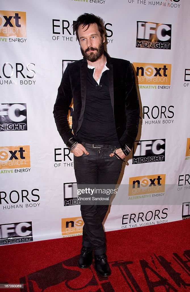 Actor <a gi-track='captionPersonalityLinkClicked' href=/galleries/search?phrase=Michael+Eklund&family=editorial&specificpeople=5347971 ng-click='$event.stopPropagation()'>Michael Eklund</a> attends the Los Angeles special screening of 'Errors Of The Human Body' at Arena Cinema Hollywood on April 19, 2013 in Hollywood, California.