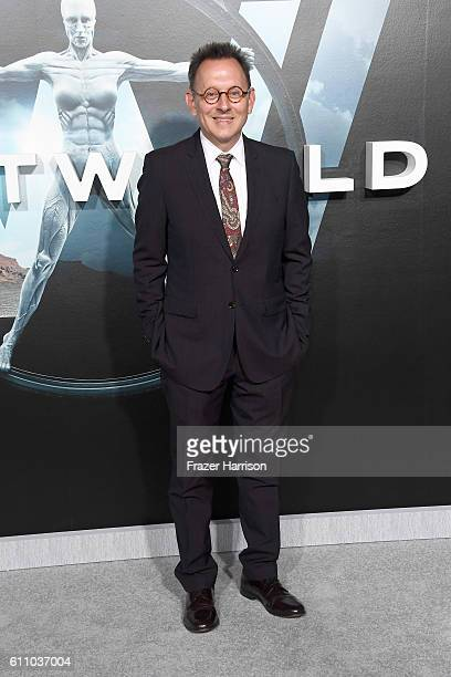 Actor Michael Emerson attends the premiere of HBO's 'Westworld' at TCL Chinese Theatre on September 28 2016 in Hollywood California