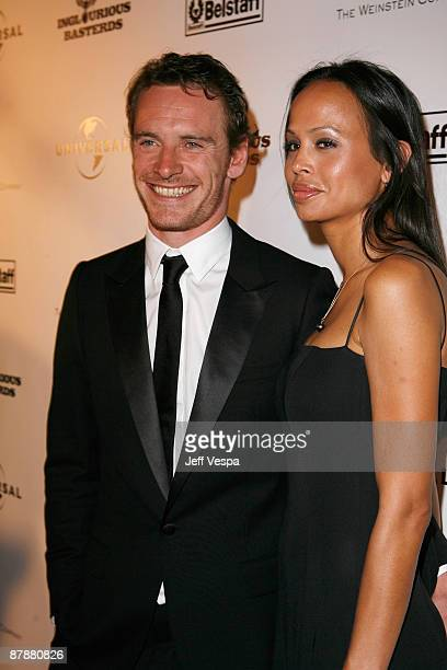 Actor Michael Fassbander and guest attend the ''Inglourious Basterds' after party presented by Belstaff at Baoli during the 62nd Annual Cannes Film...