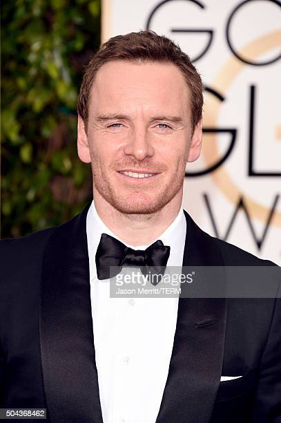Actor Michael Fassbender attends the 73rd Annual Golden Globe Awards held at the Beverly Hilton Hotel on January 10 2016 in Beverly Hills California