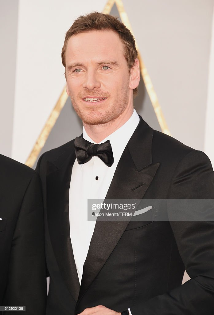 Actor Michael Fassbender attends the 88th Annual Academy Awards at Hollywood Highland Center on February 28 2016 in Hollywood California