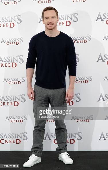 Actor Michael Fassbender attends the 'Assassin's Creed' photocall at Villamagna hotel on December 7 2016 in Madrid Spain