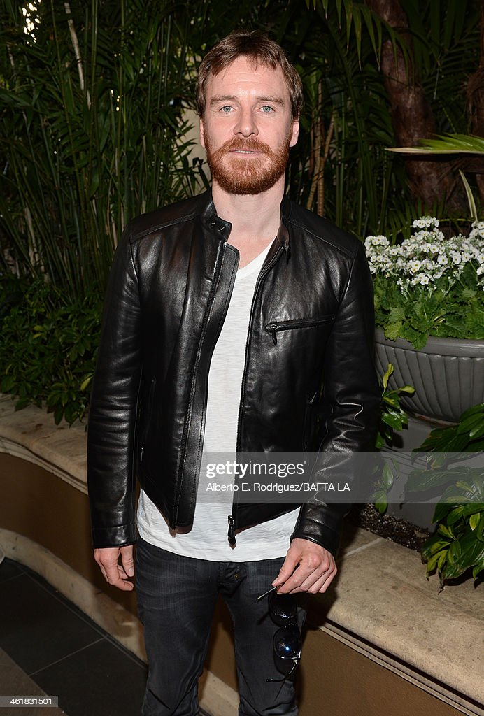Actor <a gi-track='captionPersonalityLinkClicked' href=/galleries/search?phrase=Michael+Fassbender&family=editorial&specificpeople=4157925 ng-click='$event.stopPropagation()'>Michael Fassbender</a> attends the BAFTA LA 2014 Awards Season Tea Party at the Four Seasons Hotel Los Angeles at Beverly Hills on January 11, 2014 in Beverly Hills, California.