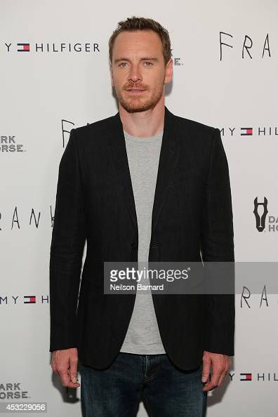 Actor Michael Fassbender attends the 'Frank' premiere at Sunshine Landmark on August 5 2014 in New York City